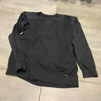 Diesel Herren Reversible Sweatshirt Schwarz gr. L Pullover Black
