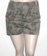 NEW Style & Co. 12 Petite Floral Print Bermuda Shorts FLOWER HERB