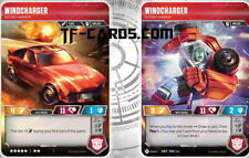 Windcharger Transformers tcg trading Card Game SRT