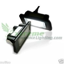 2x Audi TT Roadster 8J9 Bright Xenon White LED Number Plate Upgrade Light Bulbs