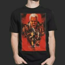 The Lost Boys T-Shirt Vampire Chinese Jap Retro Poster Film Movie Action Noodles