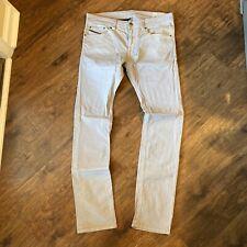 Diesel THAVAR Stretch Slim-Skinny Gray Mens Pants W32 (A)