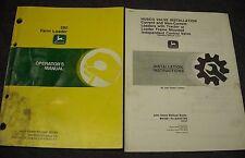 Used John Deere 280 Farm Loader Operators Manual Omw38892 Issue E9 Tractor