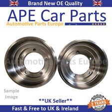 Vauxhall Astra Mk5 04-11 1.3CDTI 1.4 1.6 1.6T 1.7CDTI Rear Brake Drum X2