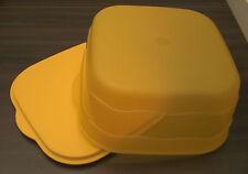 Tupperware J 48 Junge Welle Kuchenschatz Kuchenbehälter Orange Neu OVP