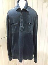 Ralph Lauren Polo Blue Cotton Jersey Pullover - XL
