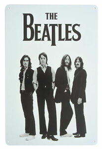 The Beatles IN STEREO VINYL BOX SET Metal Wall Sign  Steel Plaque (20cm x 30cm)