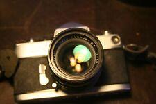 Vintage Minolta SR-7 SLR 35mm Camera with Minolta Rokkor 55mm 1:1.8 Lens