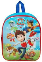 NEW PAW PATROL KIDS JUNIOR BACKPACK BOYS SCHOOL BAG CHILDRENS TRAVEL RUCKSACK