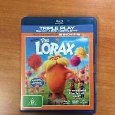 Dr. Seuss The Lorax - Triple Play -  Blu-ray - Excellent Condition