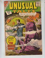 "Unusual Tales 31 VG+ (4.5) 9/62 Charlton! ""The Hiding Room!"""