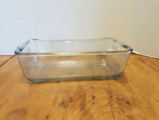 Vintage OLD FIRE KING SAPPHIRE Blue OVEN Baking Dish Loaf pan 9x 5