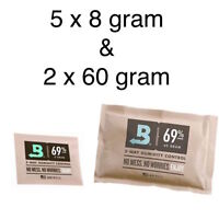 NEW Boveda 69% Bundle - 5 x 8 gram & 2 x 60 Gram Packets Humidity Control