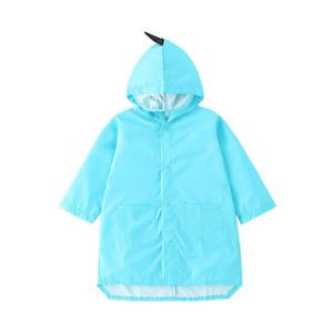 Kids Raincoats Three Dimensional Dinosaur Windproof And Rainproof Hooded Jacket