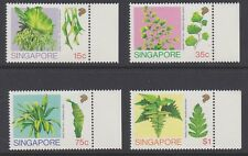 SINGAPORE 1990 Ferns complete MINT SET sg641-644 MNH