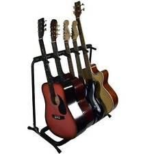 Bespeco Kanga 5 Supporto per 5 Chitarre.GUITAR STAND x chitarra,basso 5 Posti