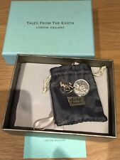 Tales From The Earth Sterling Silver Rocking Horse Charm/old Sixpence Boxed
