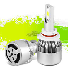 EXTREME DURABILITY 6000K 6K 9006 WHITE LED LIGHT LAMP BULBS w/FAN PLUG & PLAY