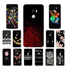 Suave TPU Silicona Funda Para HTC X10 E66 Protección Posterior Cubiertas One Skins Negro