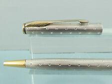 "Rare Parker Insignia Silver Perle Ballpoint Pen, CT, 2005, Box ""Stiff Mechanism"""