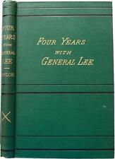 1877 1stED Four Ans avec Général Lee Propriété par Guerre Civile Pow! Thomas