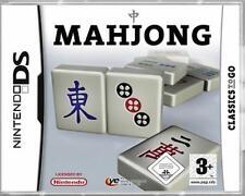 Nintendo DS 3ds mahjong al mahjong alemán como nuevo