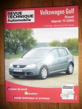 Golf 03- Revue Technique Volkswagen Etat - Bon Etat Occasion