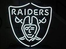 """New Oakland Raiders NFL Beer Neon Light Sign 19""""x15"""""""