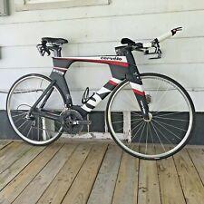 2012 Cervélo P5 TT Triathlon Bike Magura Hydro Brakes Sram Red 3T 58cm Black