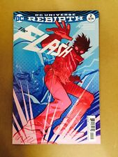 FLASH #2 REBIRTH KERSCHL VARIANT 1ST PRINT DC COMICS (2016) GODSPEED WALLY WEST