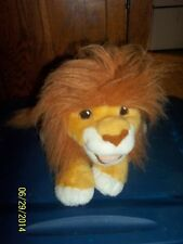 1993 MATTEL DISNEY LION KING SIMBA FULL BODY GROWLING HAND PUPPET PLUSH