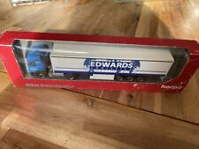 Herpa camion EDWARDS LOGISTIC 1:87