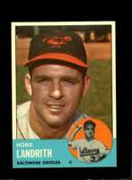 1963 TOPPS #209 HOBIE LANDRITH EXMT ORIOLES  *XR19570
