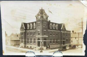 Early 1900s RPPC of Post Office Weyburn Saskatchewan Canada-Meyers wpg 4