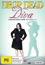 Drop Dead Diva Collection One (Season 1-3) NEW R4 DVD