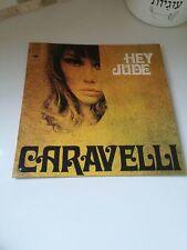 CARAVELLI HEY JUDE ISRAELI ULTRA RARE BEATLES JOHNY JOHNNY HALLYDAY LP