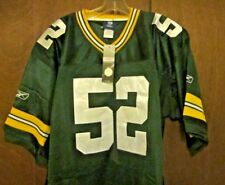 CLAY MATHEWS Jersey GREEN BAY PACKERS Authentic #52 Throwback  Green NWT NFL XL