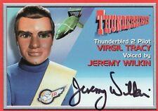 Thunderbirds TV Series Jeremy Wilkin / Virgil Tracy A4 Auto Card