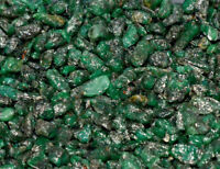 100% Natural Green Colombian Emerald Untreated Earth-Mined Specimen Rough