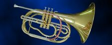 Marching French horn, cor avec goldmessing Embout