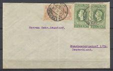 20c MF BONTKRAAG/JUBILEUM 1913 AMSTERDAM 15.II.1924 MUNSCHENDORF i/Th.     Gl379