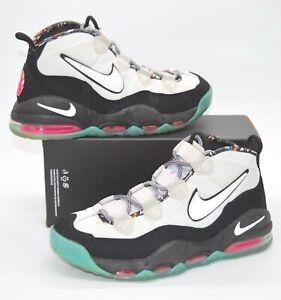 NDS Nike Air Max Uptempo 95 Spurs South Beach Grey/Black/Teal/Pink Rare Retro
