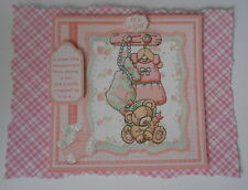 PK 2 BABY GIRL ACCESSORIES EMBELLISHMENT TOPPERS FOR CARDS AND CRAFTS