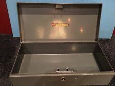 Vintage ASCO Steelmaster Bond Box No Key