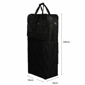 XXXL Large 40 Inch Wheeled Storage Cargo Folding Holdall Travel Duffle Zip Bag