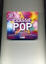 CLASSIC POP - THE ULTIMATE COLLECTION - ABBA LADY GAGA LEVEL 42 - 5 CDS - NEW!!