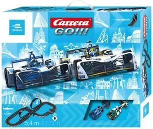 Carrera GO!!! - 62468 Formula E Slotcar Rennbahn NEU & OVP