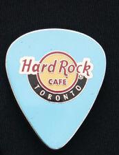 Hard Rock Cafe Pin TORONTO Canada LE150 blue GUITAR PICK lapel hat logo LE