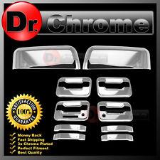 04-08 Ford F150 Chrome Top Half Mirror+4 Door Handle+keypad+PSG keyhole Cover