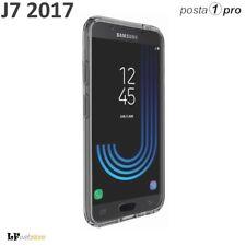 COVER CUSTODIA FRONTE RETRO 360° TRASPARENTE Per SAMSUNG GALAXY J7 2017 POSTA1